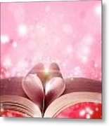 Book Love Metal Print by Les Cunliffe