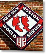 Boston Red Sox 1912 World Champions Metal Print by Stephen Stookey