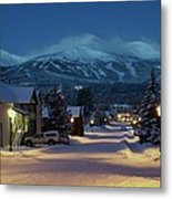 Breckenridge Colorado Morning Metal Print by Michael J Bauer