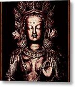 Buddhist Tara Deity Metal Print by Tim Gainey