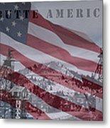 Butte America Metal Print by Kevin Bone