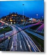 Charing Cross Glasgow Metal Print by John Farnan
