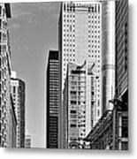 Chicago State Street - That Great Street Metal Print by Christine Till