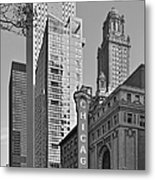 Chicago Theatre - This Theater Exudes Class Metal Print by Christine Till