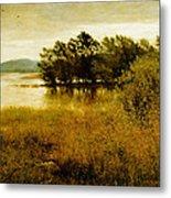 Chill October Metal Print by John Everett Millais