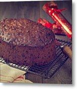 Christmas Cake Metal Print by Amanda And Christopher Elwell