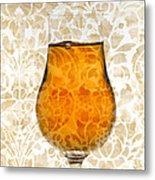 Cognac Metal Print by Frank Tschakert