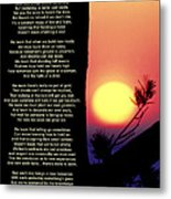 Comes The Dawn Metal Print by Mike Flynn