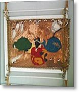 Contemporary Paintings Metal Print by Trevor R Plummer
