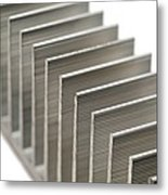 Cooling Fins Metal Print by Science Photo Library