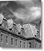 Cornell College Bowman Carter Hall Metal Print by University Icons