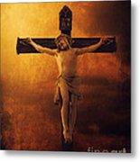 Crucifixcion Metal Print by Jelena Jovanovic
