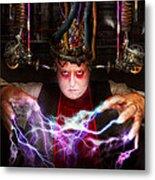 Cyberpunk - Mad Skills Metal Print by Mike Savad
