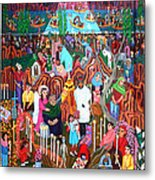 Days Of The Dead Metal Print by Maria Alquilar