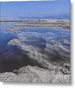 Dead Sea Landscape Metal Print by Dan Yeger