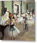 Degas, Edgar 1834-1917. The Dancing Metal Print by Everett