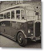Dennis Lancet Vintage Bus Metal Print by Steev Stamford