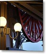 Eiffel Tower - Paris France - 01139 Metal Print by DC Photographer