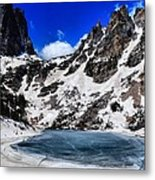 Emerald Lake In Rocky Mountain National Park Metal Print by Dan Sproul