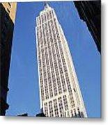 Empire State Building Metal Print by Jon Neidert