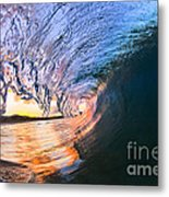 Fire And Ice Metal Print by Sean Davey