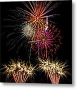 Fireworks  Metal Print by Saija  Lehtonen
