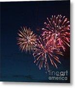 Fireworks Series Vi Metal Print by Suzanne Gaff