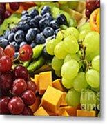 Fresh Fruits Metal Print by Elena Elisseeva