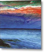 Frosty Wind Metal Print by The Art of Marsha Charlebois