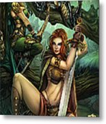 Grimm Fairy Tales Presents Black Diamond Exclusives Metal Print by Zenescope Entertainment