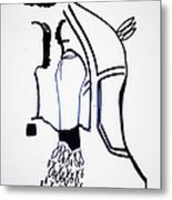 Holy Family Metal Print by Gloria Ssali
