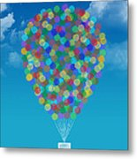 Hot Air Balloon Metal Print by Aged Pixel