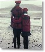 Hugging Metal Print by Joana Kruse