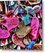 If You Love It Lock It  Metal Print by Michael Garyet