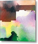 In The Land Of Forgetting 3 Metal Print by The Art of Marsha Charlebois