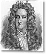 Isaac Newton Metal Print by Oprea Nicolae