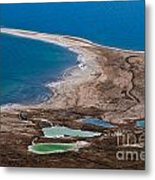 Israel Dead Sea  Metal Print by Dan Yeger