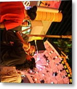 Las Vegas - Fremont Street Experience - 121215 Metal Print by DC Photographer