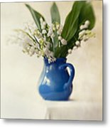 Lilly Of The Valley Metal Print by Jaroslaw Blaminsky