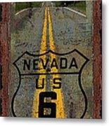 Lost Highway Metal Print by John Stephens
