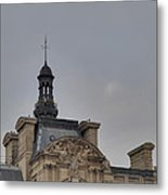 Louvre - Paris France - 01135 Metal Print by DC Photographer