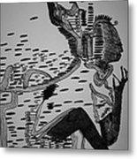 Mbakumba Dance - Zimbabwe Metal Print by Gloria Ssali