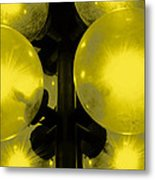 Night Light Metal Print by Toppart Sweden