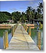 Resort Metal Print by Bruce Bain