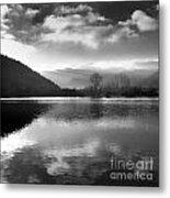 Romantic Lake Metal Print by Bernard Jaubert