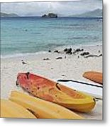 Saint Thomas Beaches Metal Print by Willie Harper