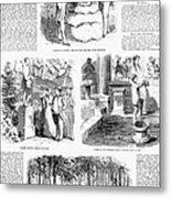 Saratoga Springs, 1859 Metal Print by Granger