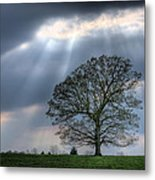 Shining Down Metal Print by JC Findley