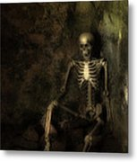 Skeleton Metal Print by Amanda And Christopher Elwell