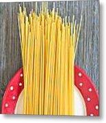 Spaghetti  Metal Print by Tom Gowanlock